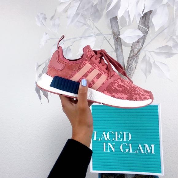 485c0a582 adidas Shoes - Adidas NMD R1 Raw Pink Glitch